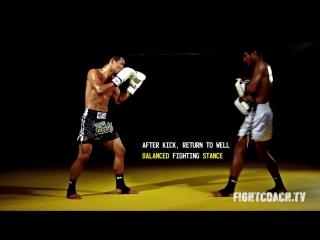 Фронт кик.Биомеханика и техника ударов.Тайский бокс//STRONG DIVISION