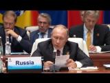 Владимир Путин принял участие во встрече лидеров БРИКС.