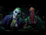 Джокер и Харли Квин против Дэдпула и Домино _ Super Power Beat Down Episode 16 _