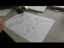 В самую жару мы рисуем вывеску Барбершоп Нет, Руслана и Колдуна в схватке