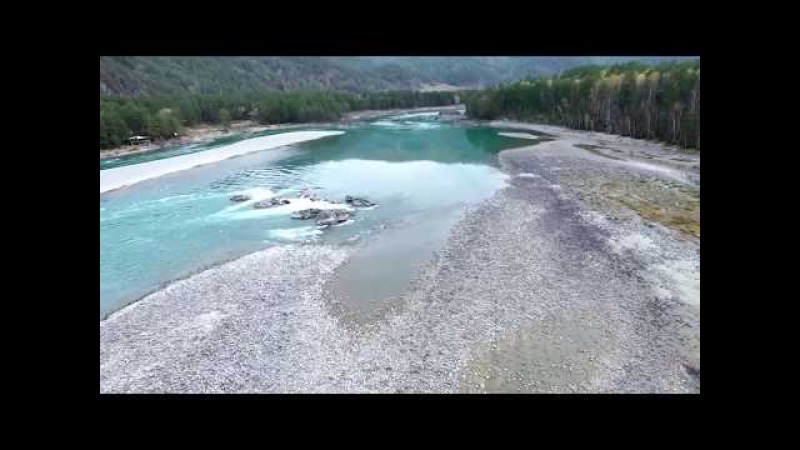 Голубые озера глаза Катуни Алтай Blue sky lakes
