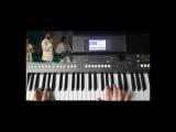 ВИА Сябры Девушка из полесья Yamaha PSR-S670 Style Ballad1-S670
