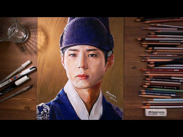 Moonlight Drawn by Clouds : Crown Prince Hyomyeong - speed drawing