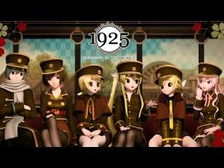 [60fps Full-cast] 1925 - 初音ミク リンレン ルカ KAITO MEIKO Miku Rin Len Luka DIVA English Romaji subtitles