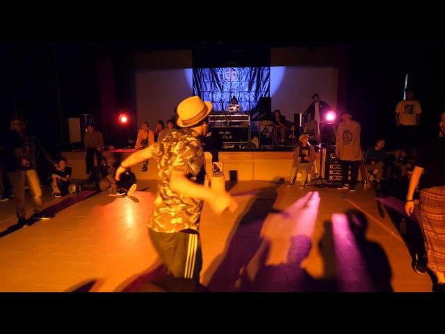 GUCCHON KAZANE vs TOYIN FOXXY BEST4 HOUSE SDCJ 2017 Street Dance Camp Japan