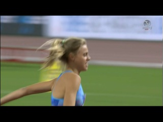 Стрибки у висоту 🇺🇦 Юлія Левченко - 1.94м. 3-е місце! Діамантова Ліга 2017.