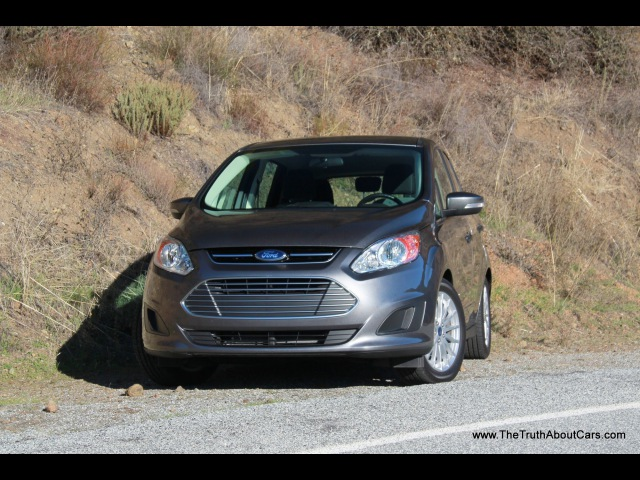 2013 Ford C-MAX Hybrid - Тест Драйв