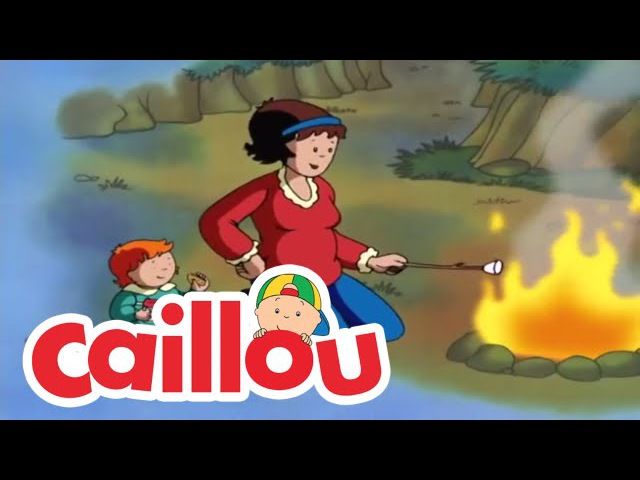 Caillou: A Camping We Will Go | Cartoon for Kids