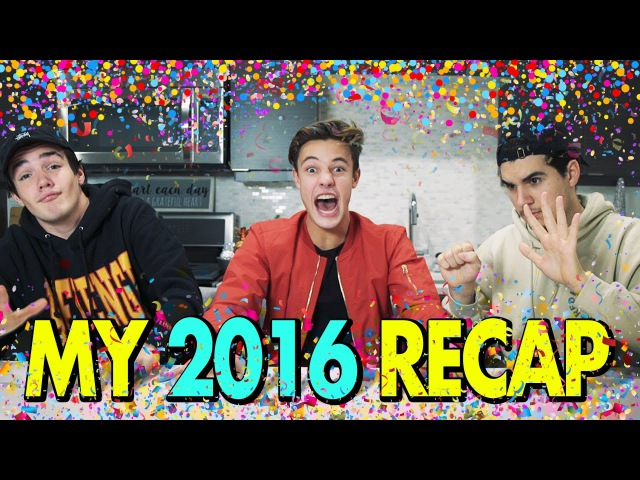CRAZIEST MOMENTS OF 2016 | Recap w/ Christian and Aaron