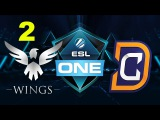 DC vs Wings - ESL One Genting 2017 - Game 2