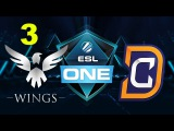 DC vs Wings - ESL One Genting 2017 - Game 3