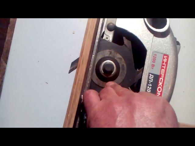 Шипорезка из ручной циркулярки (Chiorescu of hand saws)