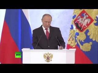 Путин о последствиях внешнего управления страной