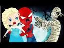 Замороженные Эльза едят конфеты и человек паук Лечит зубы новыми эпизодами!