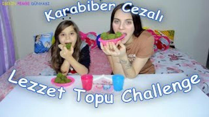 Lezzet Topu Challenge Burna Karabiber Çekme Cezalı Iyy - Eğlenceli Çocuk Videosu - Funny Kids Videos