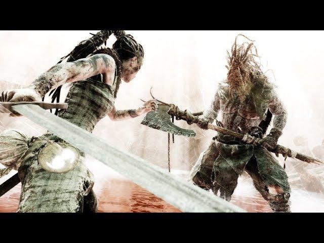 Hellblade: Senua's Sacrifice Episode 5 Boss Fight Surtr and The Bridge To Hel