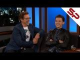 Том Холланд и Роберт Дауни мл. [Jimmy Kimmel]