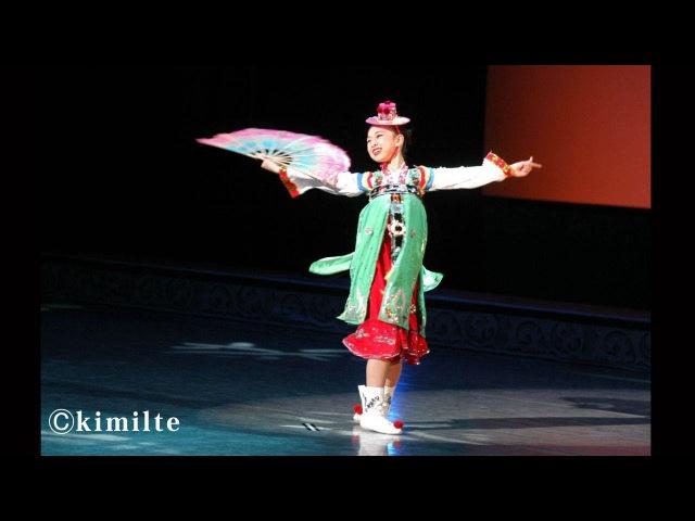 朝鮮舞踊 舞姫 조선무용(어린무희) 2003년 권리세12才
