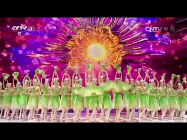 2016 CCTV음력설야회 인기프로 - 중국 부채춤 '말리꽃'