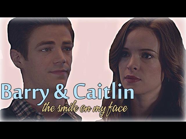 Barry Allen Caitlin Snow    The smile on my face [The Flash]