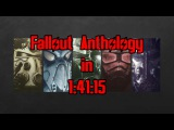 Fallout Anthology Speedrun in 14115 (World Record)