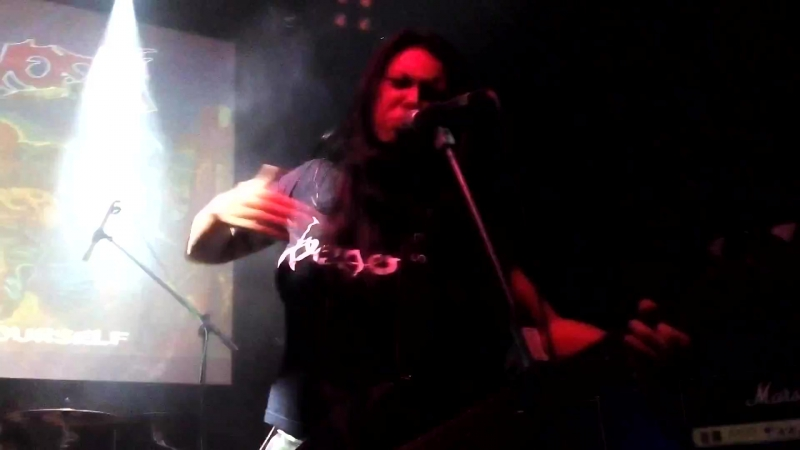 6 NERVOSA - live in Russia at The Brooklyn (Moscow) (part 6) (30.08.15)