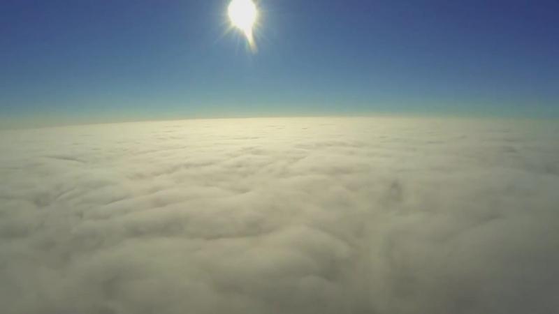 DJI Phantom. Над облаками