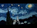 Гарип Ай (турецкий художник) - Звёздная ночь Ван Гога . Талантливо