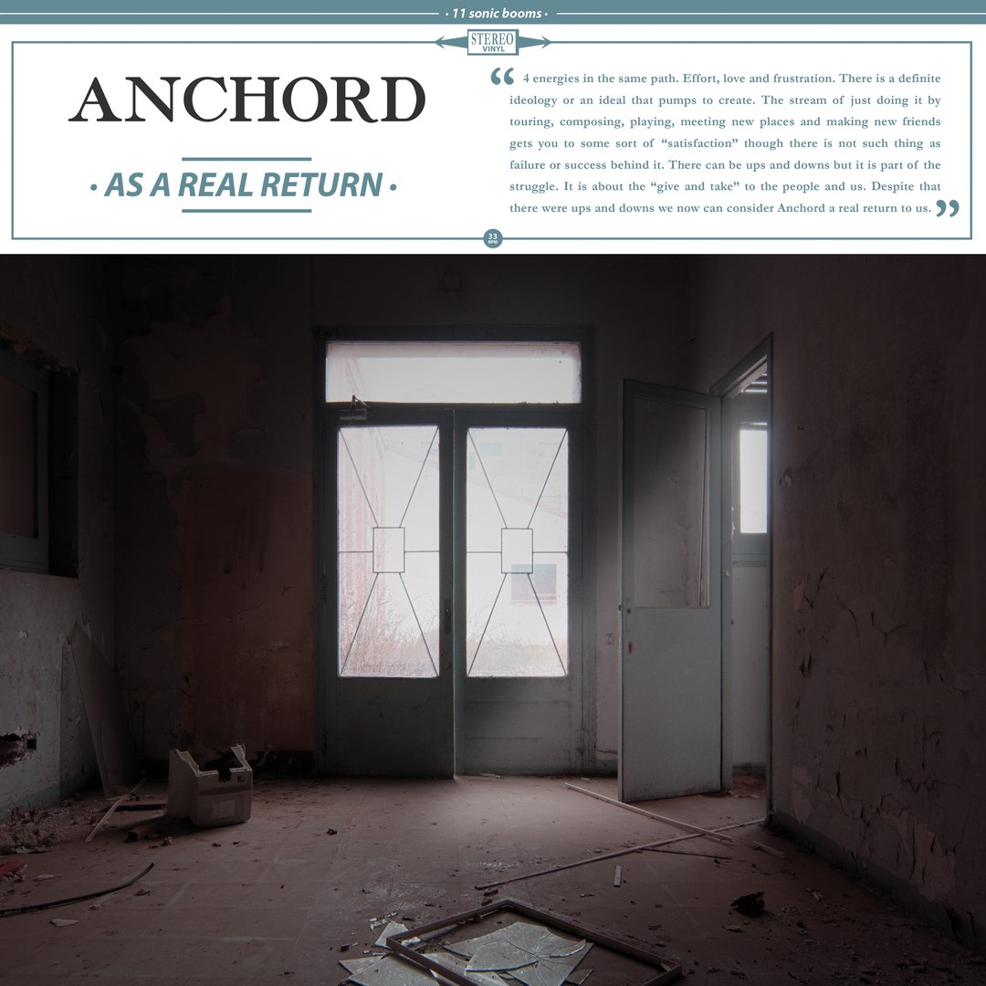 Anchord - As a Real Return (2017)