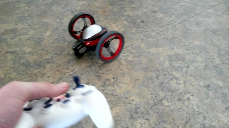 Прыгающий робот-дрон на радиоуправлении (19 см., 2.4Ghz)