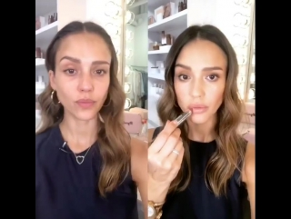 My @honest_beauty before and after monochromatic summer look inspired by our Chestnut Kiss which is in @byrdiebeauty limited edi