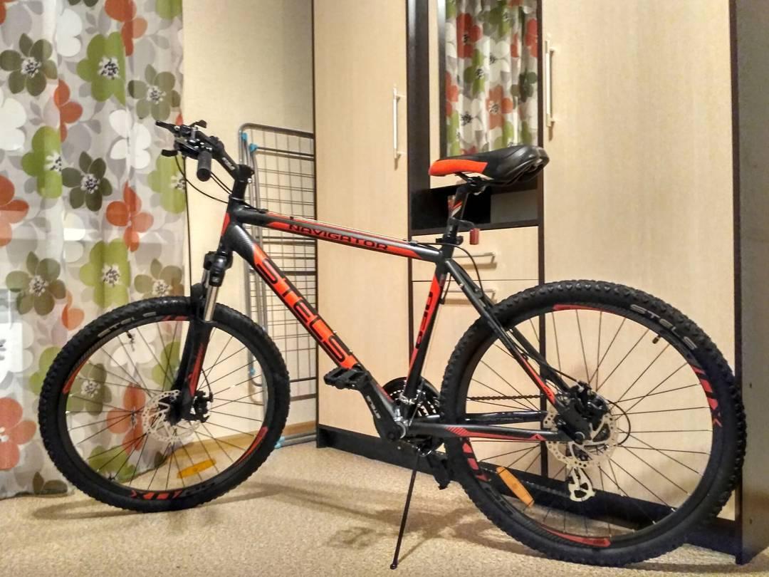 велосипед стелс фото
