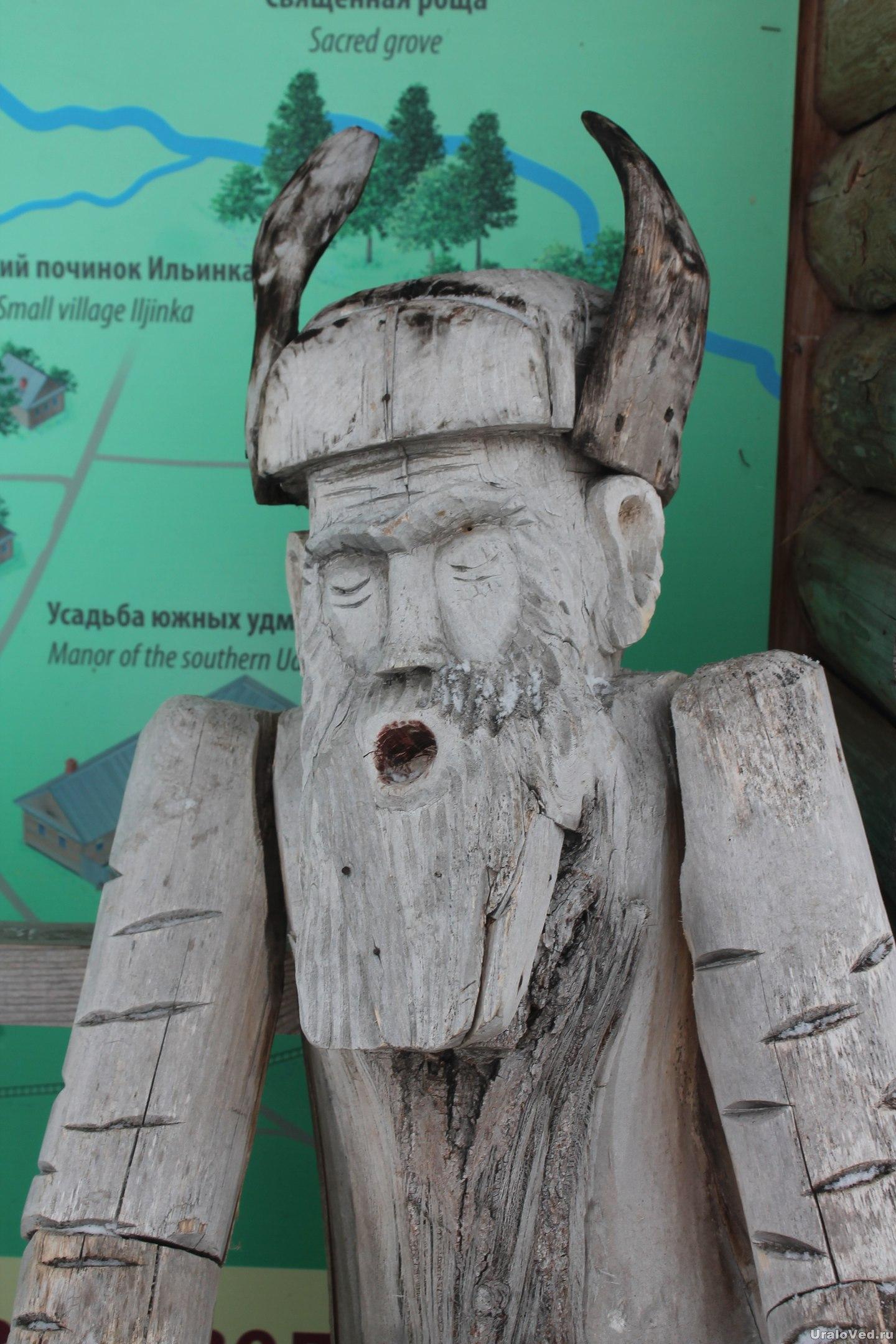 Скульптура в Лудорвае