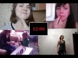 Видео от девочек на 23 февраля
