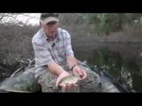 Рыбалка на проточном озере. Карась