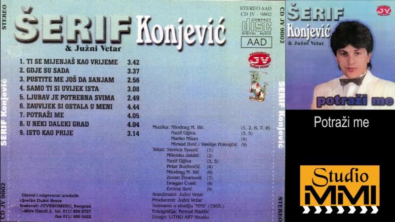 Serif Konjevic i Juzni Vetar - Potrazi me (Audio 1985)
