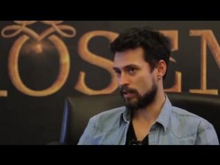 Интервью с Экином  Коч (Султан Ахмед) из сериала  «Великолепный Век. Кёсем»