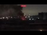 На заводе ЗИЛ на юге Москвы произошёл пожар