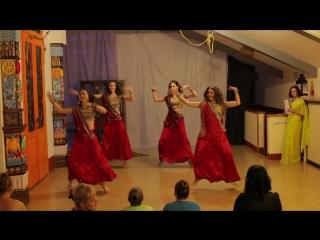 г.Кемерово. Дом-йоги Мудра. 1ый фестиваль индийского танца Тысяча и одна ночь. Dola re dola (25.12.16)