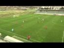 Adam Cerin strike for Slovenia U18 vs Serbia