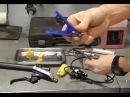 Как укоротить гидролинию тормоза велосипеда С прокачкой и без