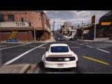 GTA 5 REDUX  - Ультра реалистичный Графический ENB MOD - Ford Mustang - WB - 60 кадров в секунду - PC GTA V