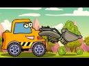 Мультфильмы для Детей про Машинки - Трактор Павлик собирает урожай с Друзьями