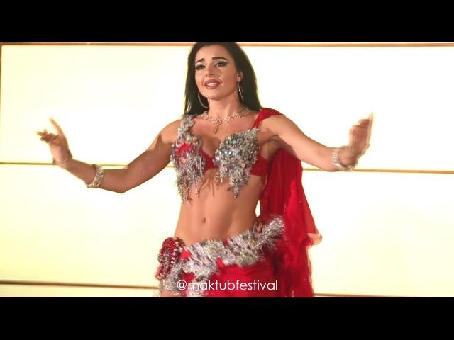 Alla Kushnir bellydance Maktub Festival by Lorelei Mawood song جديد أللا كوشنير رقص على أغنية م16