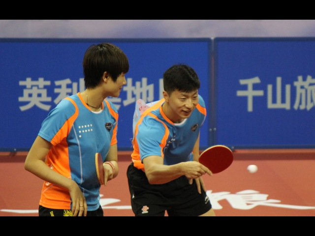 Ma Long/Ding Ning vs Yu Ziyang/Wang Manyu (2016 Chinese National Championships)