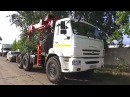 2017 КамАЗ 43118 с гидроманипулятором Обзор интерьер экстерьер двигатель
