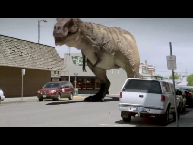 Ковбои против динозавров. Cowboys vs Dinosaurs. 2015 .Отрывок 1.