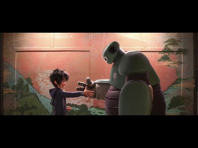 Baymax Fist Bump