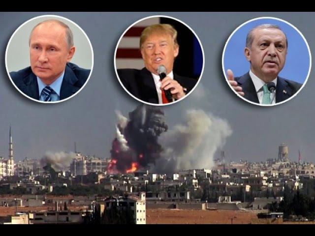 TRAMP PRAVI NAJVECU ARMIJU IKADA I KRECE U SIRIJU: Amerika, Rusija i Turska ZAJEDNO protiv islamista