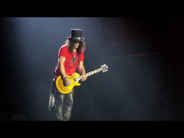 Slash - Guitar solo / Godfather Theme (Lisbon, Portugal 02/06/2017)